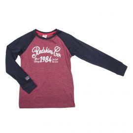 Tee shirt ml ph2011 t8 a 16 ans Enfant REDSKINS marque pas cher prix dégriffés destockage