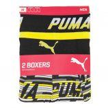Lot 2 boxers confort coton stretch Homme PUMA marque pas cher prix dégriffés destockage