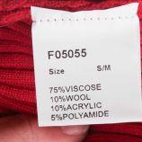 Jupe côte chaussette laine Femme CARE OF YOU marque pas cher prix dégriffés destockage