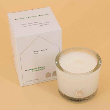 Bougie parfumée in the garden LOTHANTIQUE marque pas cher prix dégriffés destockage