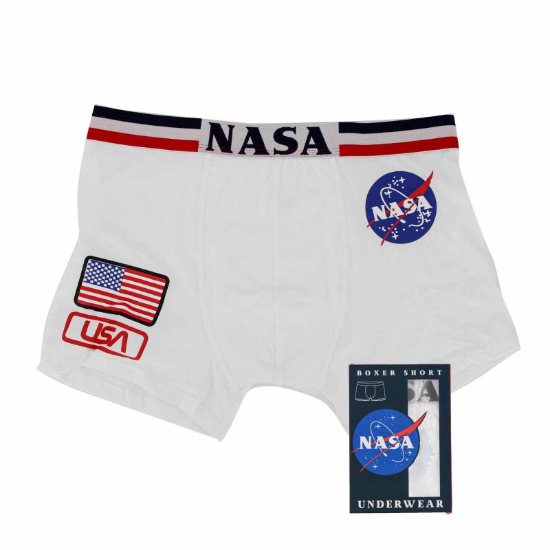 Boxer flag usa Homme NASA marque pas cher prix dégriffés destockage
