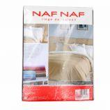 Housse de couette 140x200 taies oreiller 65x65 NAF NAF marque pas cher prix dégriffés destockage