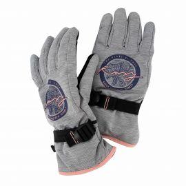Gants de ski 3099 gris Femme ROXY marque pas cher prix dégriffés destockage