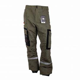 Pantalon ski 3043 vert Homme DC SHOES marque pas cher prix dégriffés destockage
