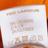Pull col roule pompeia Femme TED LAPIDUS marque pas cher prix dégriffés destockage