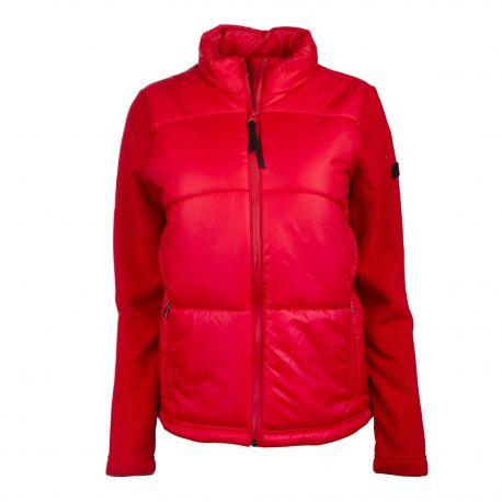 Blouson rouge h6231 Femme AIGLE marque pas cher prix dégriffés destockage
