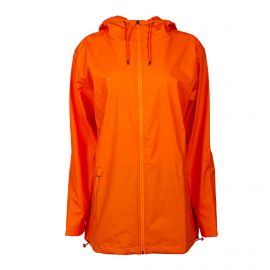 Trench long zip orange Femme RAINS marque pas cher prix dégriffés destockage