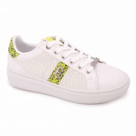 Basket blanche cf01w80726/04 Femme CONTE OF FLORENCE