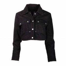 Veste en cuir ml 26020329 Femme YAS marque pas cher prix dégriffés destockage