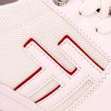 Basket compensee blanc/argente 1193806 t36/41 Femme TOM TAILOR marque pas cher prix dégriffés destockage