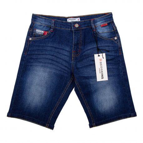 Bermuda en jean jns45026 8-16ans Enfant REDSKINS marque pas cher prix dégriffés destockage