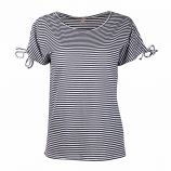 Tee shirt rayures manches courtes Femme BEST MOUNTAIN