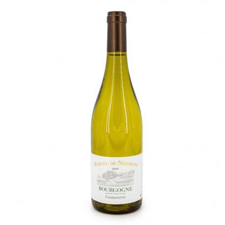 """Aop bourgogne blanc chardonnay 2019 """"marcel de normont"""" 12.5% 75cl Mixte MARCEL DE NORMONT"""