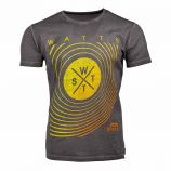 Tee shirt black motel 9999 Homme WATTS