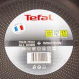 Poêle poignée fixe induction 28cm TEFAL marque pas cher prix dégriffés destockage