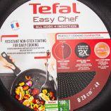 Poêle Easy Chef poignée fixe induction 28cm TEFAL marque pas cher prix dégriffés destockage