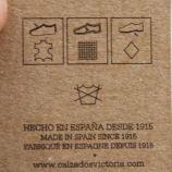 Baskets cuir nude 1126142 VICTORIA marque pas cher prix dégriffés destockage