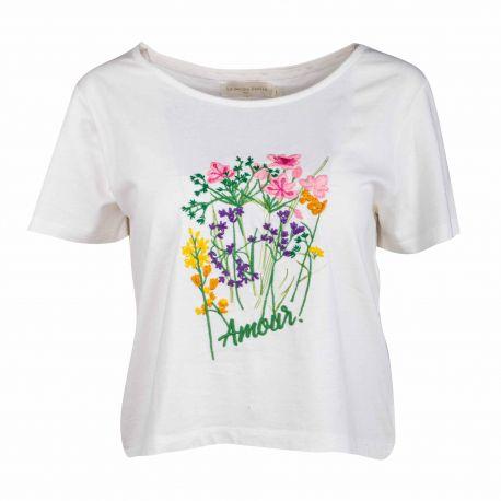 Tee shirt mc garancia Femme LA PETITE ETOILE marque pas cher prix dégriffés destockage