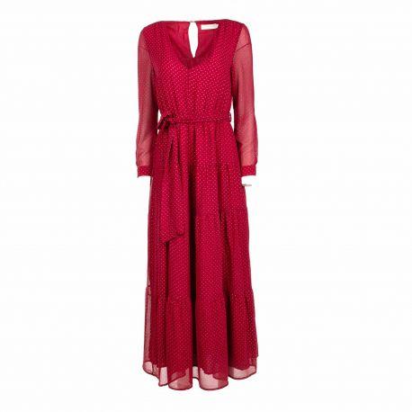 Robe longue marienbad Femme LA PETITE ETOILE marque pas cher prix dégriffés destockage