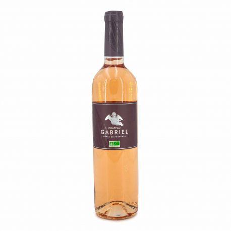 Vin rosé bio Château Gabriel AOP Côtes de Provence 75cl 2019 marque pas cher prix dégriffés destockage