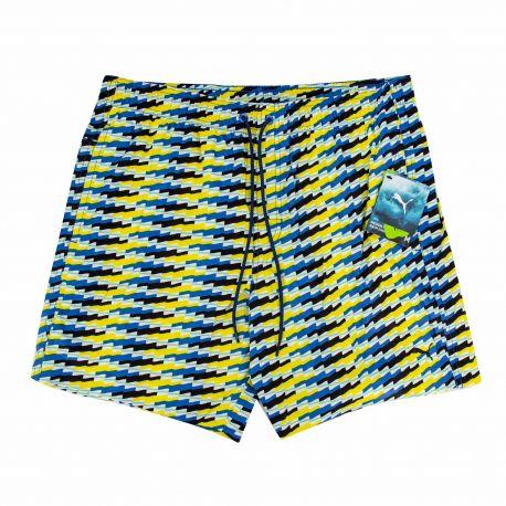 Short de bain bleu/jaune 100000074006040 Homme PUMA marque pas cher prix dégriffés destockage