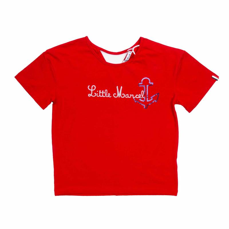 T-shirt mc Enfant LITTLE MARCEL marque pas cher prix dégriffés destockage