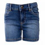 Short jean délavé coton BCI doux stretch Fille KIDS ONLY