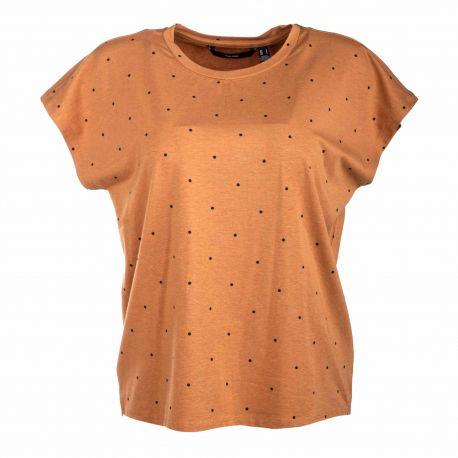 Tee shirt mc 10241417 Femme VERO MODA marque pas cher prix dégriffés destockage