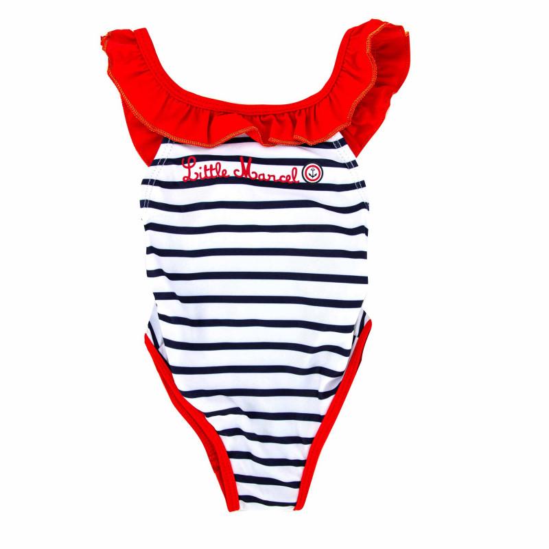 Maillot de bain 1 piece Enfant LITTLE MARCEL marque pas cher prix dégriffés destockage