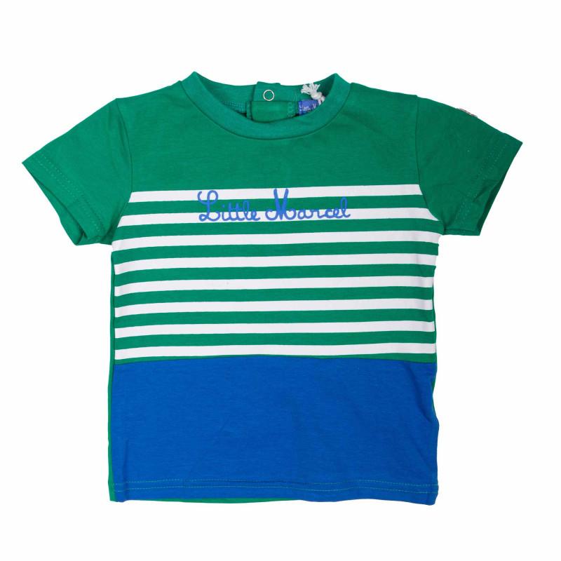Tee shirt manches courtes Enfant LITTLE MARCEL marque pas cher prix dégriffés destockage