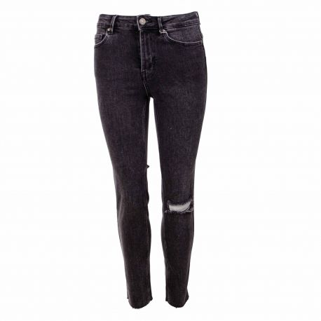 Jeans black 17106400 Femme PIECES