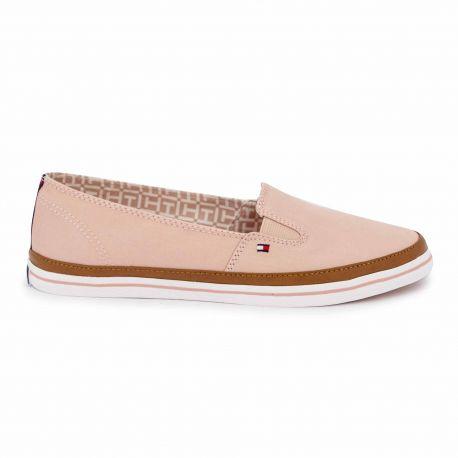 Sneakers pink fw0fw01656 t36/41 Femme TOMMY HILFIGER marque pas cher prix dégriffés destockage