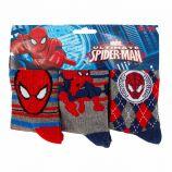 Lot de 3 paires de chaussettes imprimé coton Spider-Man Enfant MARVEL