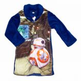 Robe de chambre polaire manches longues BB-8 Enfant STAR WARS