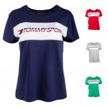 Tee shirt manches courtes logo s10s100123 Femme TOMMY HILFIGER