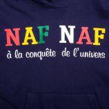 Sweat capuche 753085 3-14 ans Enfant, Bébé NAF NAF marque pas cher prix dégriffés destockage