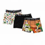 Lot de 3 boxers microfibre Toy's Story Pixar Enfant DISNEY