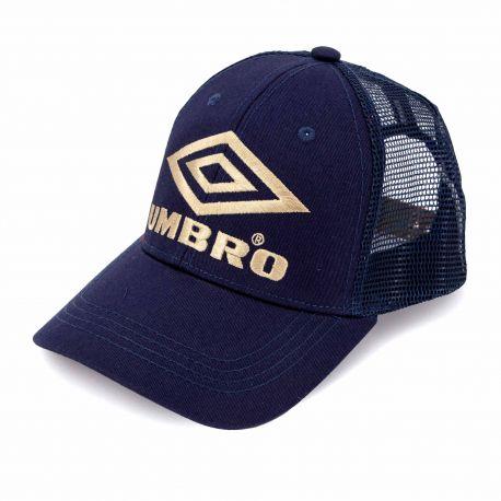 Casquette baseball uni logo contraste avec filet Homme UMBRO marque pas cher prix dégriffés destockage