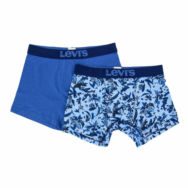 Boxer lot de 2 bleu combo 100001646 Homme LEVI'S marque pas cher prix dégriffés destockage