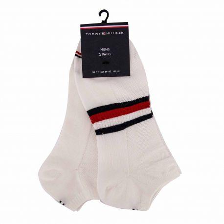 Chaussettes lot de 2 t39/46 100002659 Mixte TOMMY HILFIGER marque pas cher prix dégriffés destockage