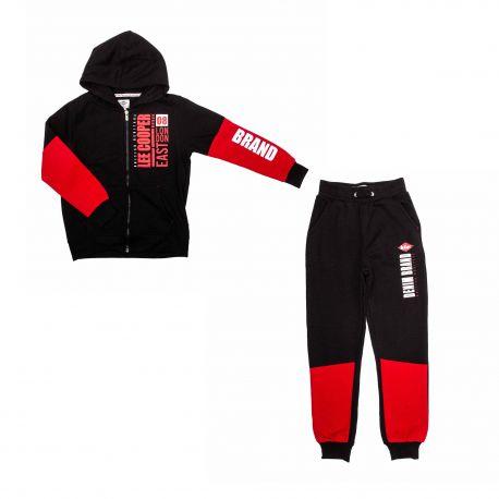 Jogging glc70122 navy-black Enfant LEE COOPER marque pas cher prix dégriffés destockage