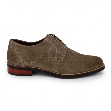 Derby manlo 41-46 gris taupe Homme KICKERS