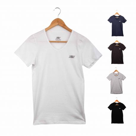 Tee shirt mc nmrh 3002/3011 Homme NEW MAN
