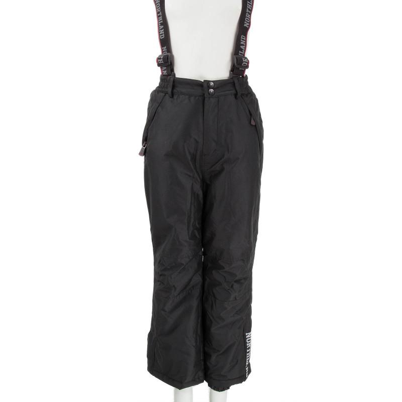 Pantalon de ski noir enfant XYLO Northland marque pas cher prix dégriffés destockage