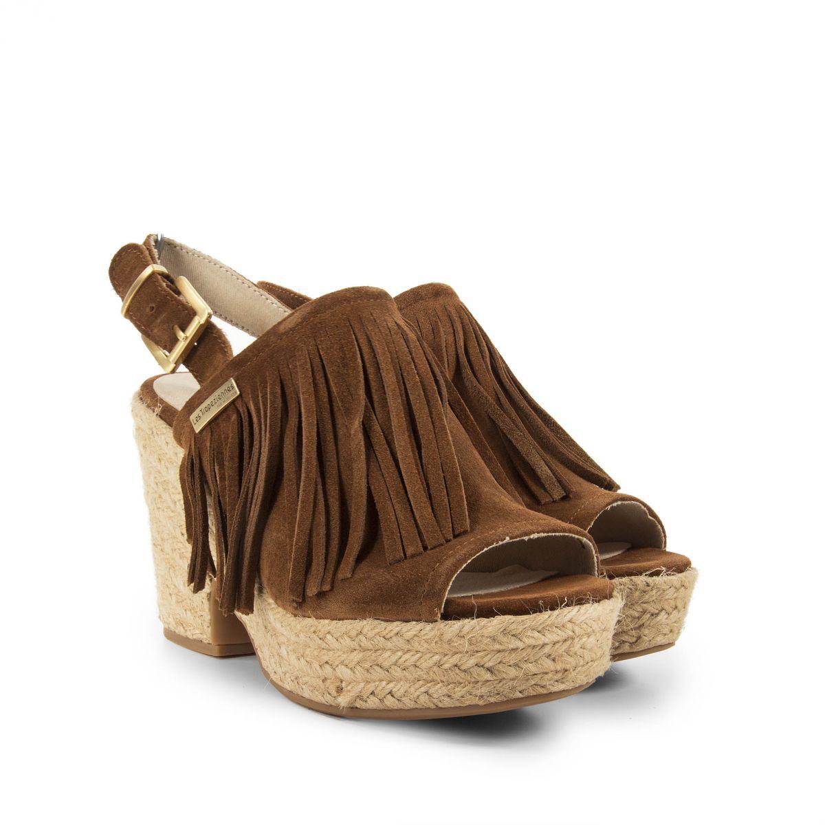 Marques Chaussure femme Les Tropéziennes par M Belarbi femme Corail Cognac