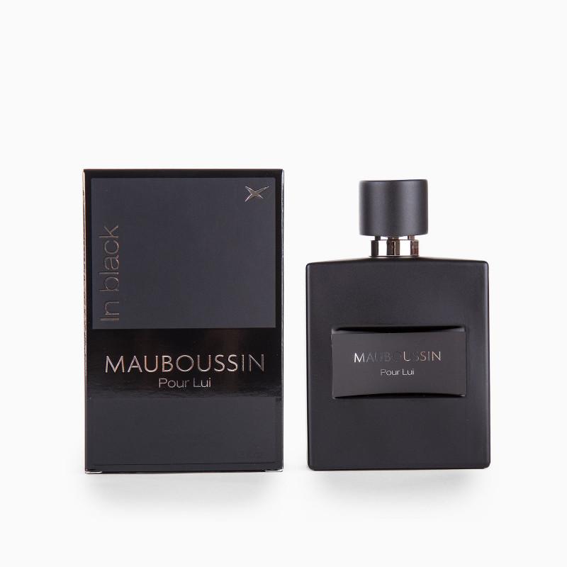 Parfum Eau de parfum Pour Lui In Black 100ml Homme MAUBOUSSIN marque pas cher prix dégriffés destockage