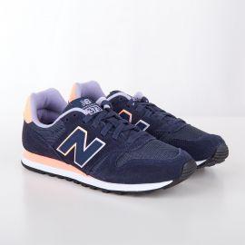 Baskets sneakers WL373GN bleu navy femme NEW BALANCE marque pas cher prix dégriffés destockage