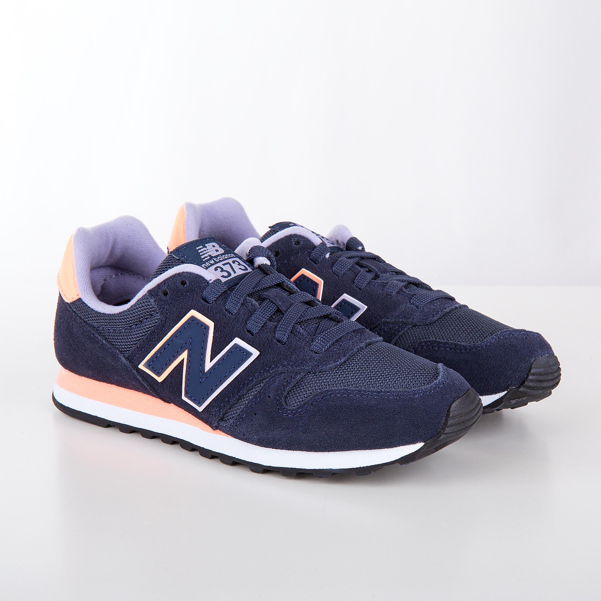 acheter en ligne 4b656 4353f Baskets sneakers WL373GN bleu navy femme NEW BALANCE
