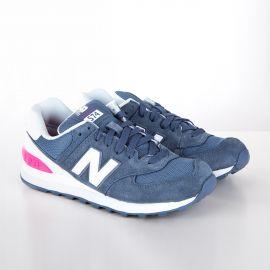 Baskets sneakers WL574CNB bleu clair femme NEW BALANCE marque pas cher prix dégriffés destockage
