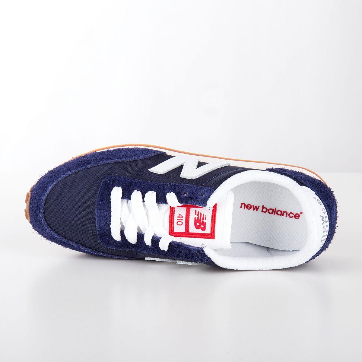 super popular 44b2b a4d47 ... Baskets sneakers U410NY bleu marine enfant NEW BALANCE marque pas cher  prix dégriffés destockage
